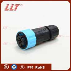 M16 assembled male connector female pin